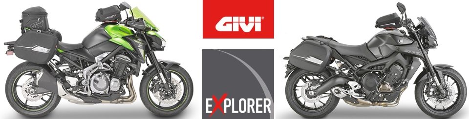 Givi koffers - accessoires